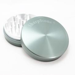 "Large SharpStone® Hard Top 2 Piece Grinder - 2.5"" Grey"