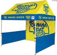3m Pop Up Tent Canopy + Back Wall + 2 Half Side Walls