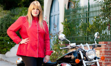 GOGO GEAR CAFE JACKET (NEW!) - RED