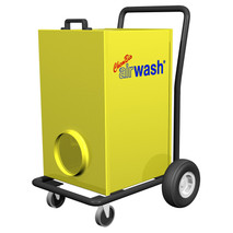 Amaircare 6000V AIRWASH Cart - Yellow, variable speed control with VOC