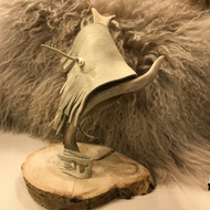 Paris Montana®  original Custom Buckskin Fringe Leather & Freshwater Pearl Pinky Cuff