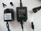 Jebao WP450L-O (118gph) w/TUBE Light (INDOOR/OUTDOOR)