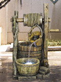 "40"" Bucket & Well Fountain GRN725"