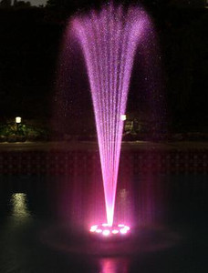 "Floating Fountain Ring ""Best"" 12 LED Light"