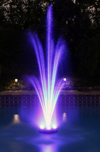 """Better"" 6 LED Light Floating Fountain Ring"