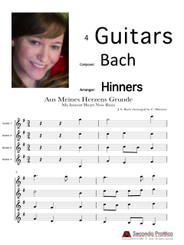 Aus Meines Herzens Grunde (My Inmost Heart Now Rises) by Bach/Hinners