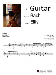 Suite No. 1 in G major, BWV 1007 - 6 Minuet II by Bach/Ellis