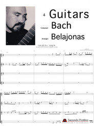 Fugue in C Major, Book 1 Well Tempered Clavier by Bach/Belajonas