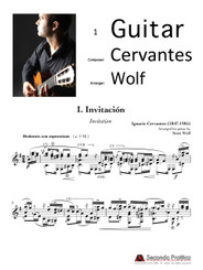 Escenas: Five Cuban Dances by Cervantes/Wolf