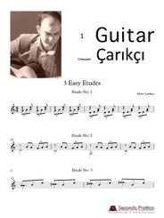 3 Easy Etudes by 'Çarıkçı
