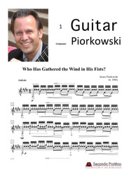 Who Has Gathered the Wind in His Fists? by Piorkowski