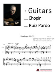Study op. 10, nº5 for two guitars by Chopin/Ruiz Pardo