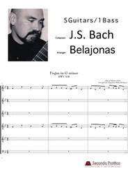 Fugue in G minor BWV 578 by Bach/Belajonas