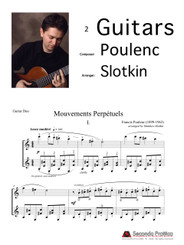 Mouvements Perp̩tuels by Poulenc/Slotkin