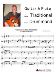 Variations on the Theme of Greensleeves by Drummond