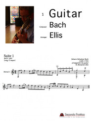 Suite No. 1 in G major, BWV 1007 - 5 Minuet I by Bach/Ellis