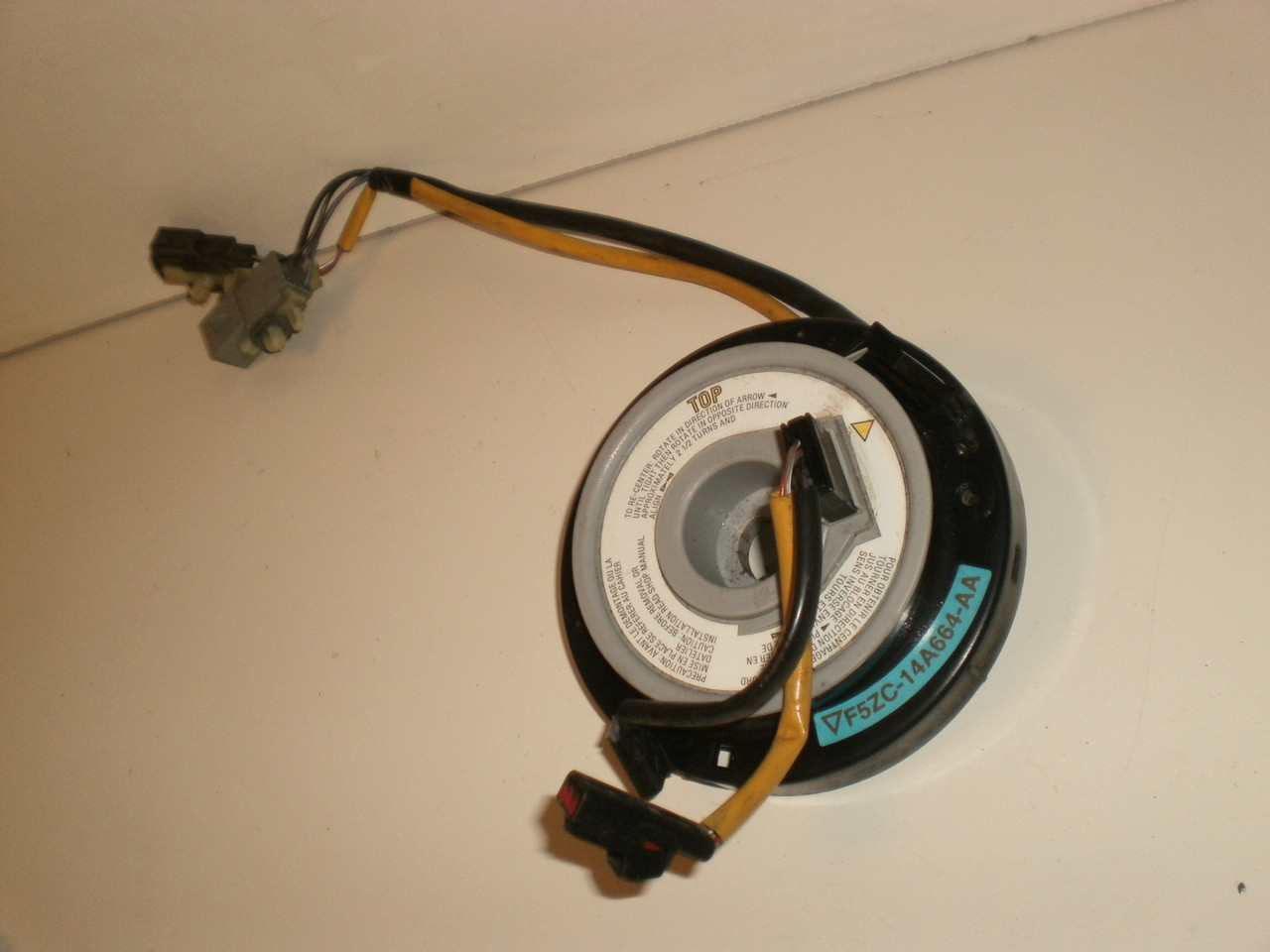 1994 1995 1998 Ford Mustang Srs Air Bag Airbag Cruise Control Clock Wiring Larger More Photos