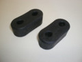 1994-1998 Ford Mustang Exhaust Pipe Hanger Mount Rubber Pair Lx GT Cobra