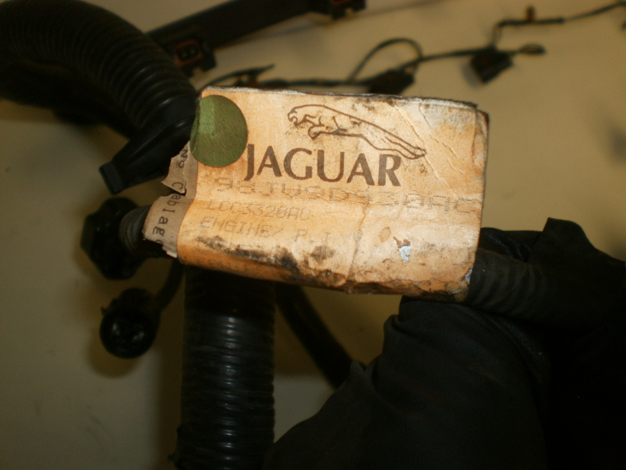1998 2002 Jaguar Xj8 Vanden Plas Drivers Steering Wheel Air Bag Xj6 Wiring Harness Larger More Photos