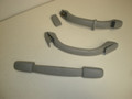 1997-1999 Subaru Legacy Outback Interior Gray Head Liner Top Grab Handles Assist Straps Hand Holds 92033A C100MS