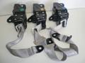 1998-2002 Jaguar XJ8 Vanden Plas Rear Seat Belts Belt Left Right Center Safety Set Tan Cream Oatmeal HNC7067AD/AGD HNC7066AD/AGD HNC7073AD/AGD