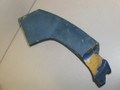 1971-1972 Ford Mustang Coupe Convertible Right Quarter Panel Extension End Cap Trim D1ZB-6528518-AA Blue