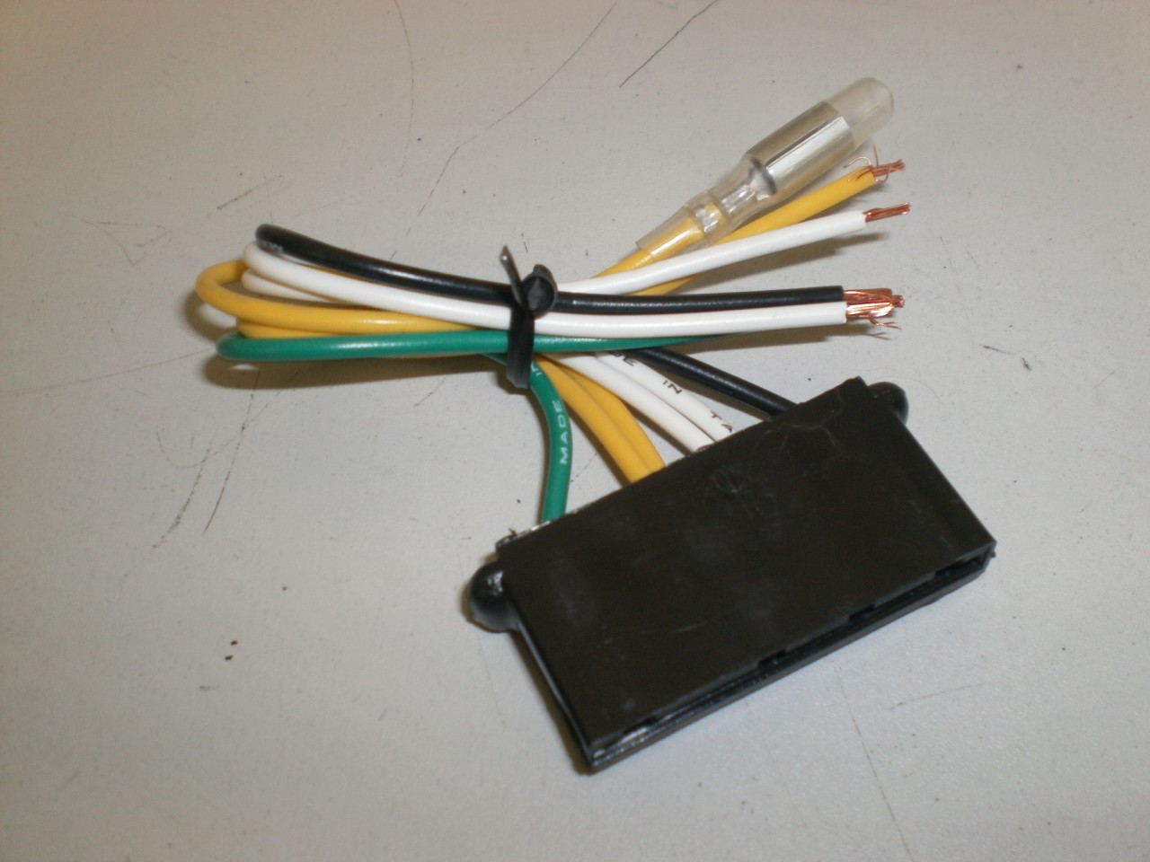 1965-1973 Ford Mustang Voltage Regulator Plug Wire Harness EndFord , Lincoln , Mercury Parts