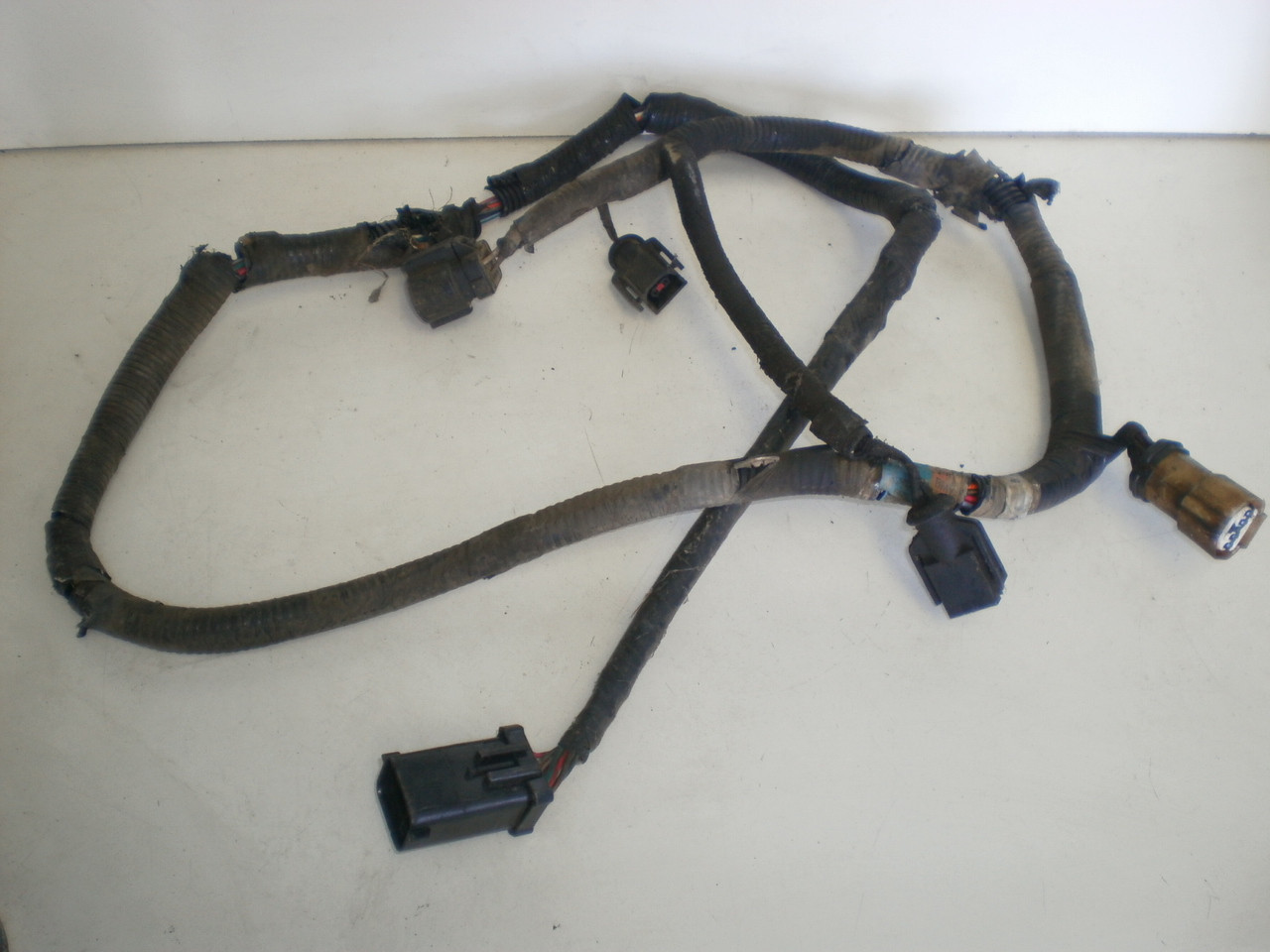 1994 1995 Ford Mustang 50 V8 302 Engine Smog Pump Lines Valves Harness Wiring Larger More Photos