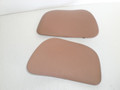 1994-2004 Ford Mustang Left Right Upper Panel Tweeter Cover Convertible W/O Mach Interior Quarter Panel Speaker Cover Grill Trim Tan Camel Sadle F4ZB-18C837-ACW 19A133 F7ZZ-18978 18979