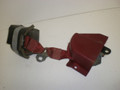 1987-1993 Ford Mustang Seat Belt Safety Retractor Convertible Right Passenger Red F0ZZ-76611B08-B