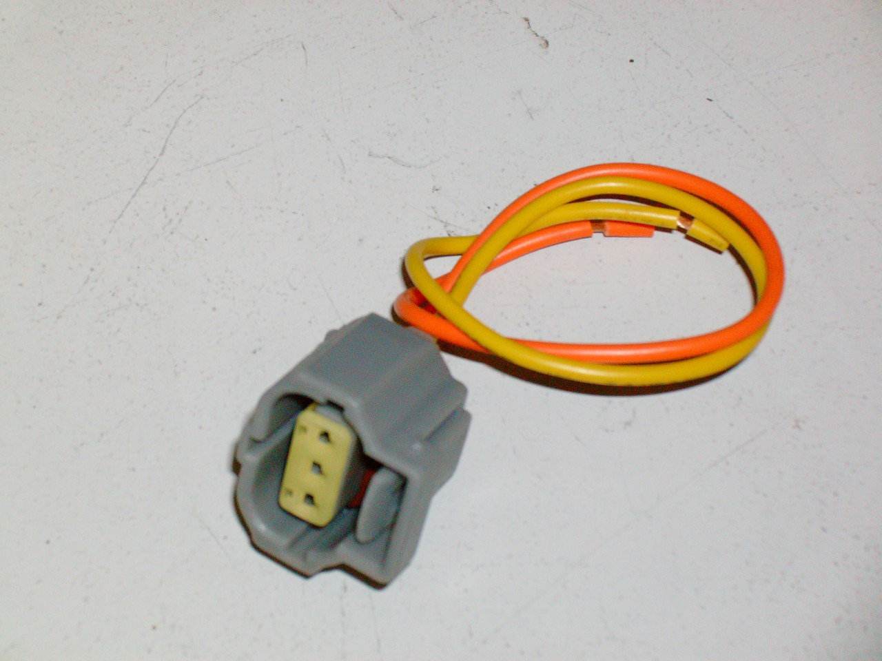 1999 04 Ford Mustang Alternator 2 Wire Plug Harness Clip 46 Gt 38 Lx 01 Taurus Ses Wiring Image 1