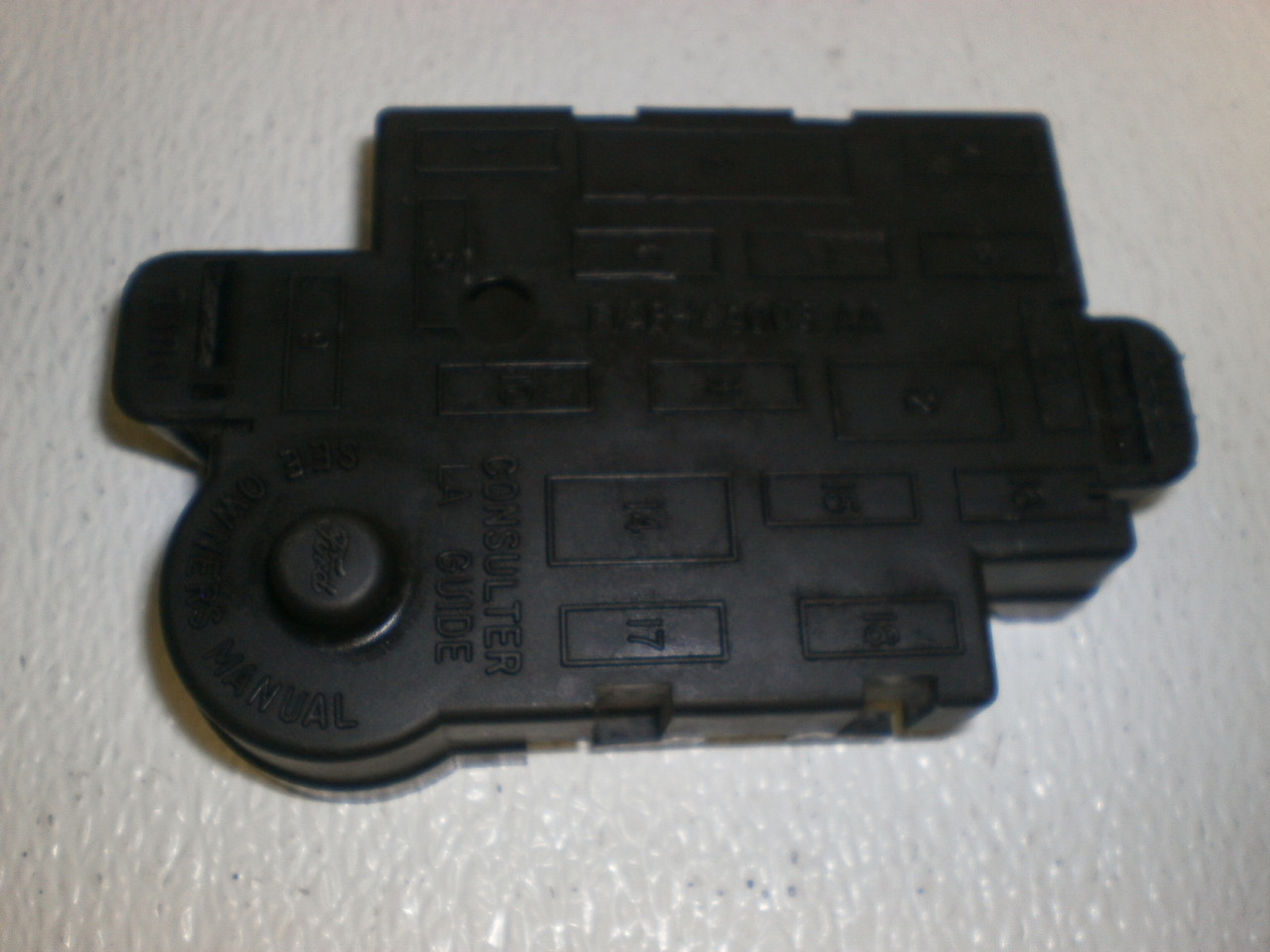 1998 2001 Ford Mustang Center Console Wire Harness Loom Fuse Box Cover For 1999 Gt Larger More Photos