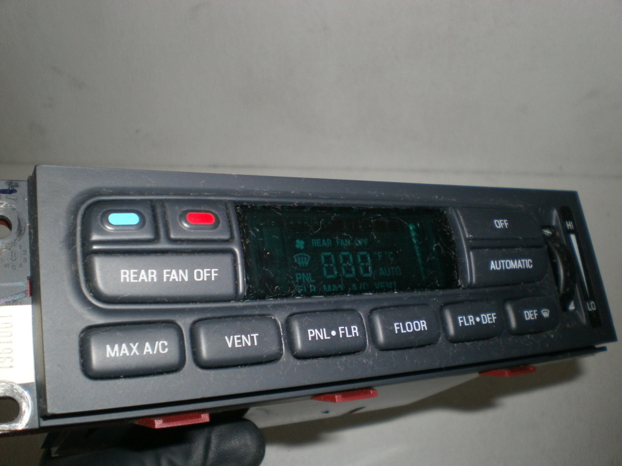 1996 1997 Ford Explorer Heater Climate Control Dash Panel Switches Auto Fan For Automatic Temperature Mode Electronic F67h 19c933 Ag