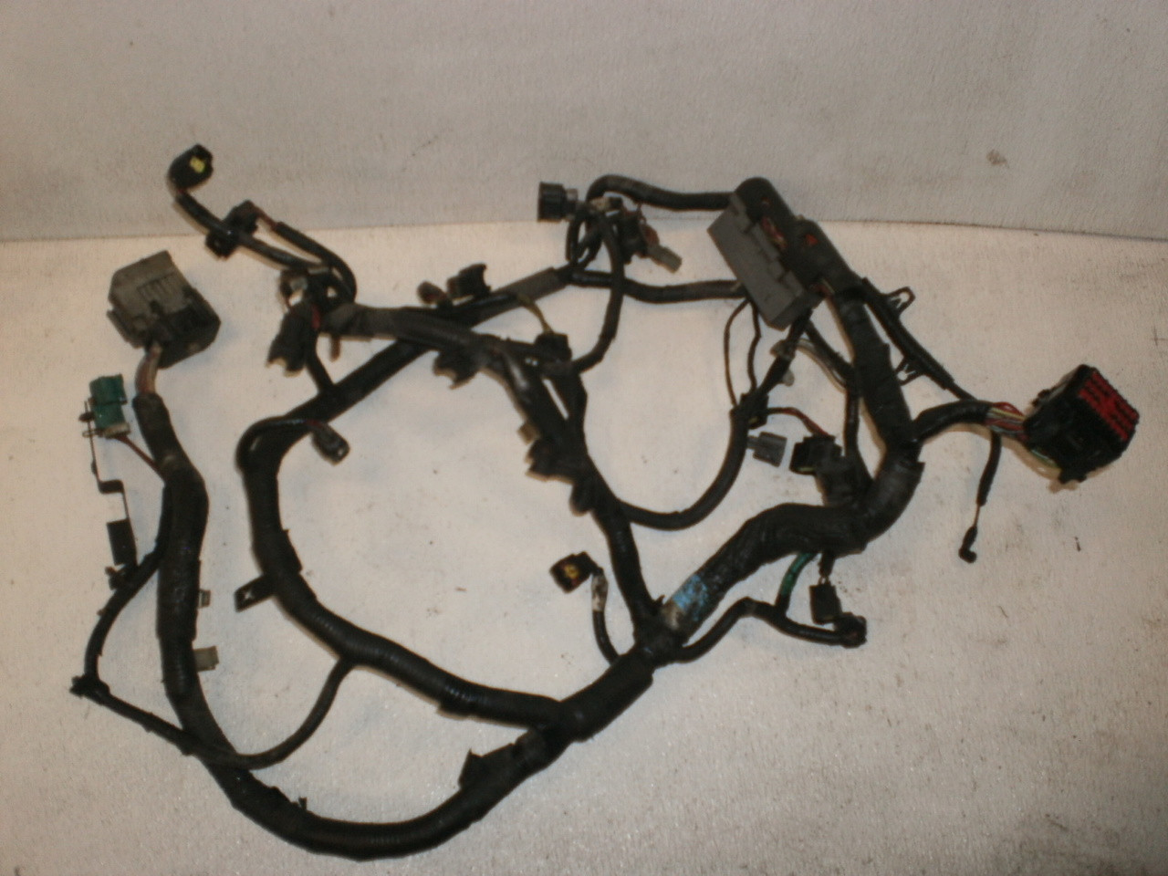 1998 ford explorer mercury mountaineer 5 0 v8 302 engine fuel injection wire  harness loom f87b-12b637 gt40 - fordonlyparts com