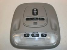 2002-2006 Jaguar X Type Overhead Console Garage Sunroof Dome Map Light Switches Gray Trim 1X43-19A335-AA C2S001163LFJ C2S015952