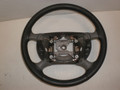 1994-2004 Ford Mustang Gray & Charcoal Leather Steering Wheel W/ Cruise Control XR3Z-3600-BB