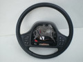1998-2001 Ford Explorer Black Leather Steering Wheel With Remote Controls Switches Cruise Radio Fan F87Z-3600-AAH