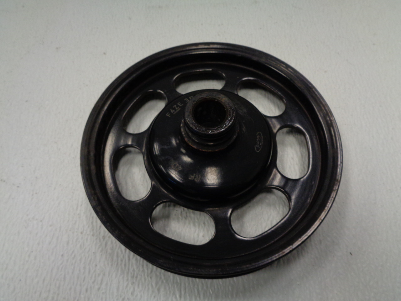For 1993-2011 Mercury Grand Marquis Power Steering Pump Pulley Dorman 35586FR
