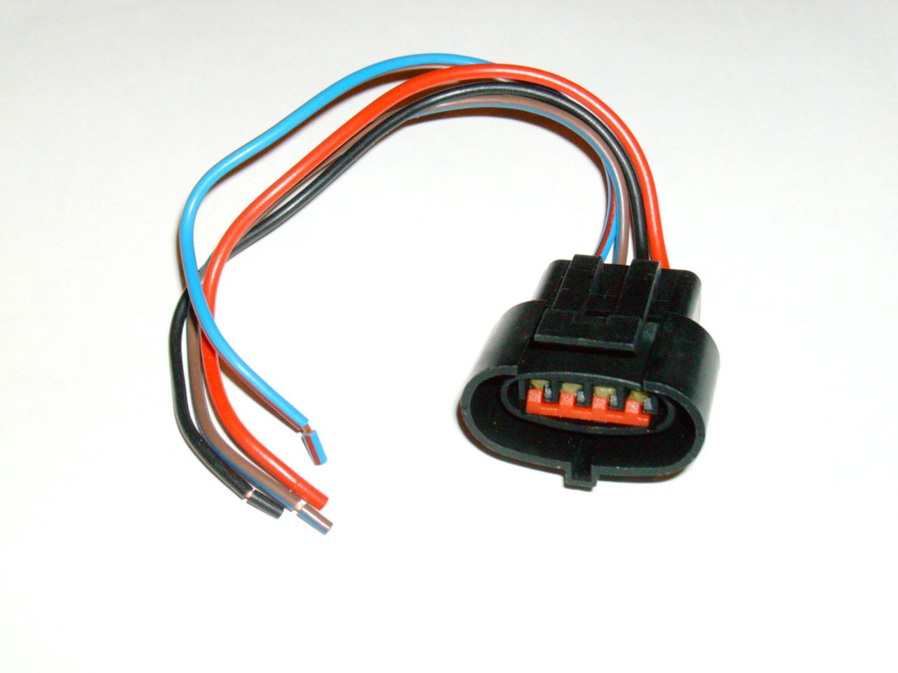 1988-1995 Ford Car & Mustang MAS Air Flow Meter Sensor Plug Wire Harness  Socket Gt Lx Cobra