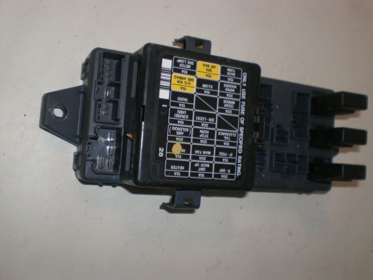 1997 1999 Subaru Legacy Outback Under Dash Fuse Panel Lid Module 1995 Lincoln Mark Viii Box