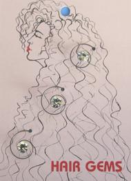 Hair Gems Crystal #HG246 Original Price - $7.00