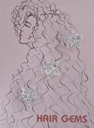 Hair Gems Star Flower #HG249 Original Price - $9.50