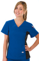 Shown in Royal Blue. Model is wearing size Small.
