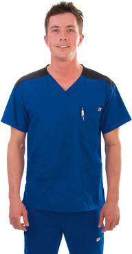 Shown in Royal Blue / Black. Model is wearing Medium.