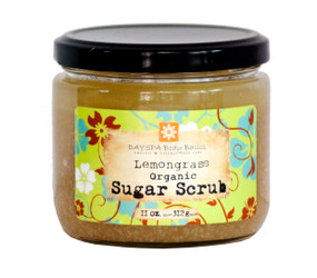 DAYSPA Body Basics Lemongrass Body Sugar Scrub = glowing, smooth, healthy skin
