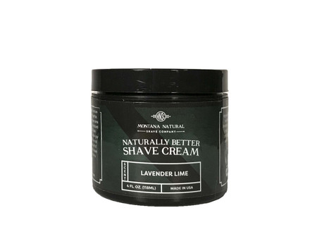 Montana Natural Shave Company | Lavender Lime Shave Cream for a Naturally Better Shave Experience!