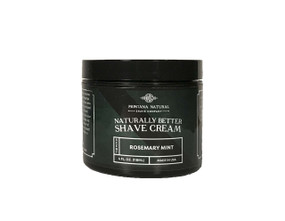 Montana Natural Shave Company | Rosemary Mint Shave Cream for a Naturally Better Shave Experience!