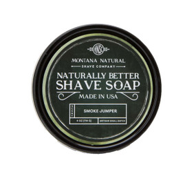 Smoke Jumper Artisan Small Batch Shave Soap for a Naturally Better Shave Experience