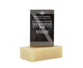 Old Faithful Travel Friendly Solid Shampoo and Beard Wash - Montana Natural Shave Company