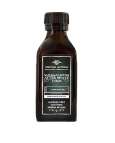 Lavender Lime Classic Old School Aftershave Tonic. Naturally Better  Alcohol Free Botanical Splash. Montana Natural Shave Company